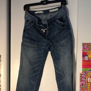 Crazy cool carpenter jeans from Anthropologie